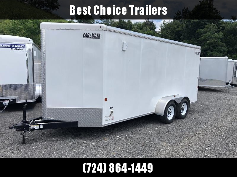 USED 2013 Car Mate 16' Tandem Axle Enclosed Cargo Trailer 7000# GVW * HD  PKG * LOTS OF OPTIONS