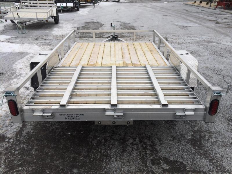 2019 QSA 6x10' Aluminum Landscape Utility Trailer 2990# GVW 4' Gate