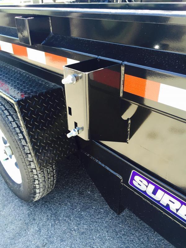 2019 Sure-Trac 6x12' Dump Trailer 9900# GVW - DROP LEG JACK UNDERMOUNT RAMPS COMBO GATE
