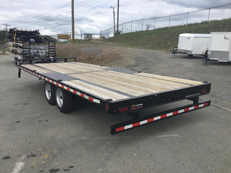 2017 Sure-Trac 102x22' Flatbed Deckover 17600# GVW 8K AXLE UPGRADE!