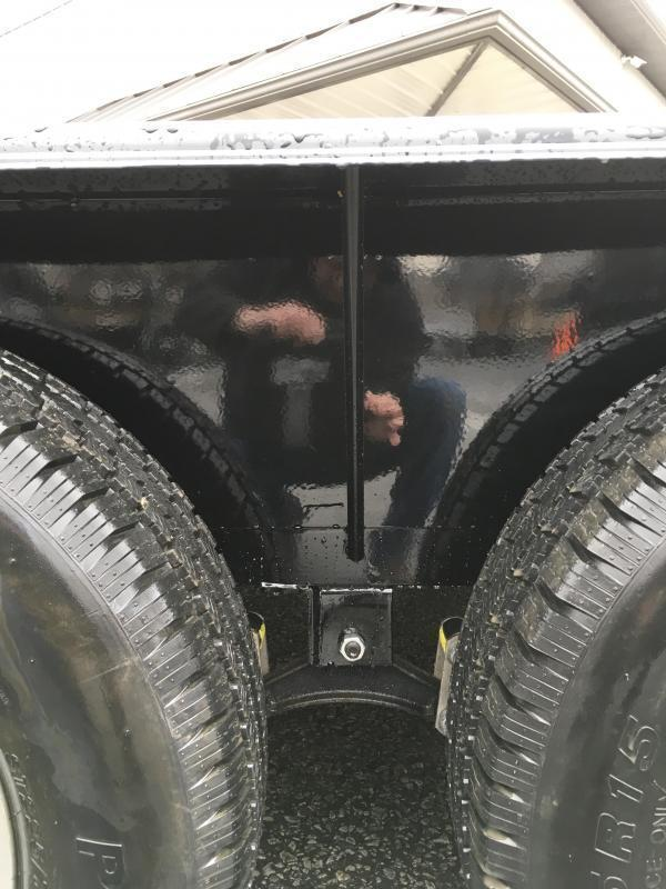 2018 Lamar 7x16' ATV Utility Trailer 7000# GVW ATV SIDE RAMPS * 7' WIDTH * CHARCOAL