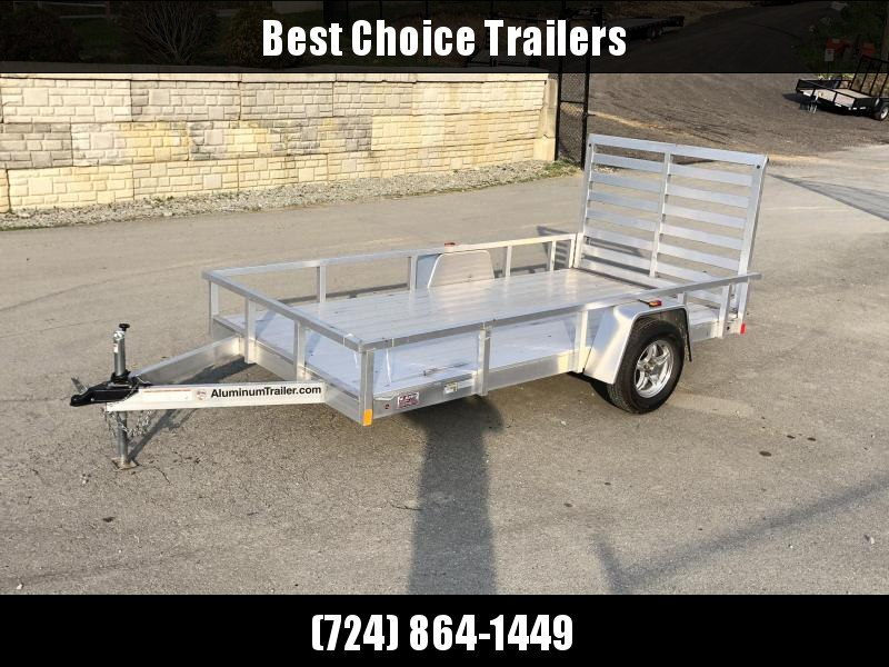 USED 2017 ATC 6.5x12' Aluminum Utility Landscape Trailer 2990# GVW * TORSION * ALUMINUM WHEELS * EXTRUDED FLOOR