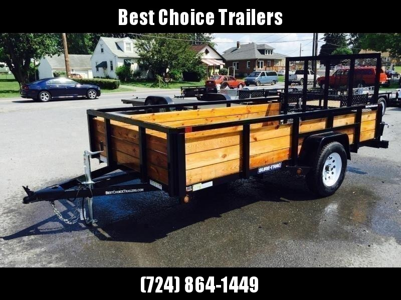 2019 Sure-Trac 5x8 3-Board High Side Tube Top Utility Trailer 2990