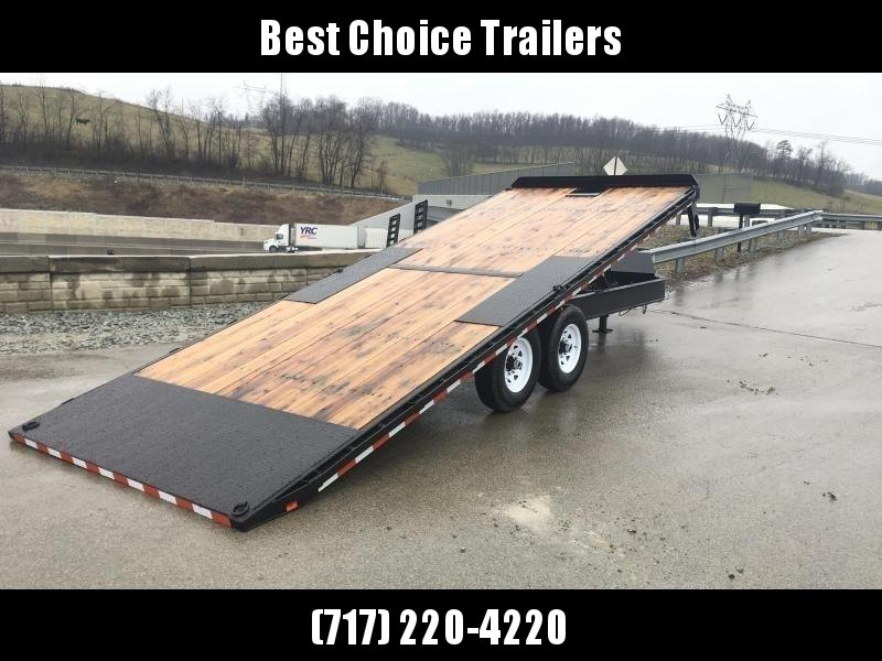 2019 Sure-Trac 102x22' Power Tilt Deckover 15000# GVW * WINCH PLATE * OAK DECK