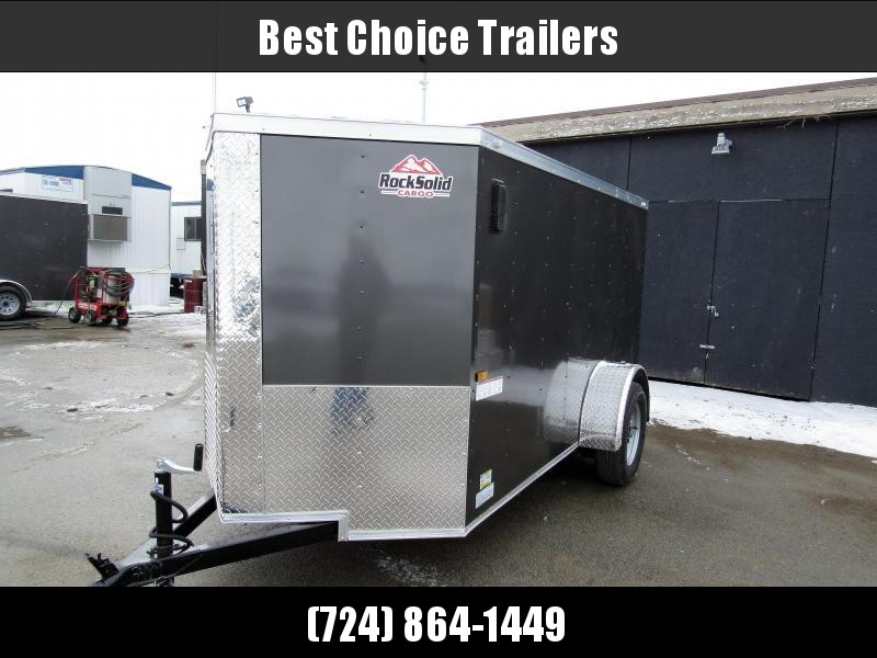 2018 Rock Solid Cargo 5X10SA Enclosed Cargo Trailer