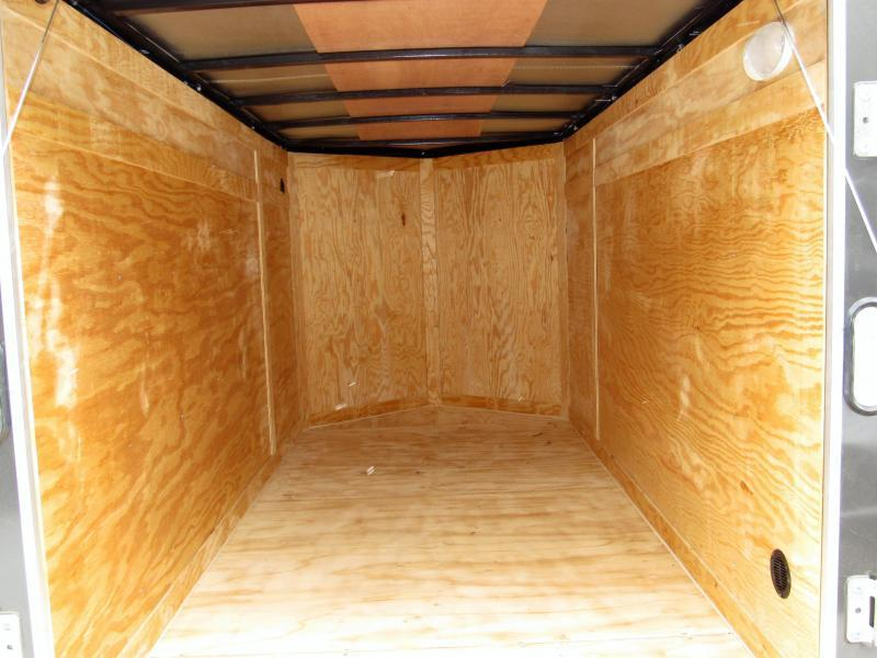 2018 Rock Solid Cargo 5X10SA Enclosed Cargo Trailer * CLEARANCE - FREE ALUMNIUM WHEELS