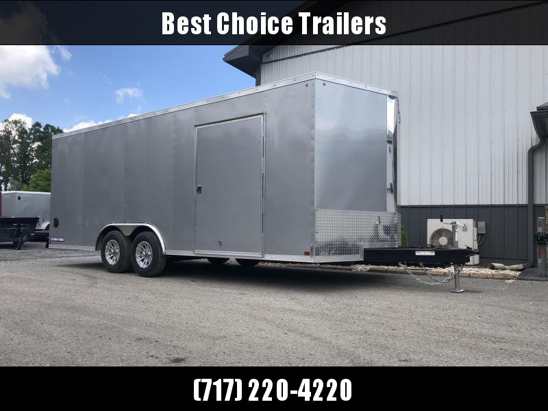2019 Sure-Trac 8.5x20' Enclosed Car Trailer 9900# GVW * CHARCOAL