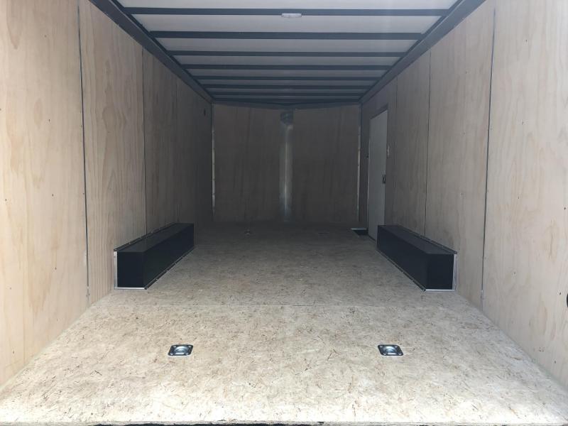 2019 Sure-Trac 8.5x20' Enclosed Car Trailer 9900# GVW * CHARCOAL