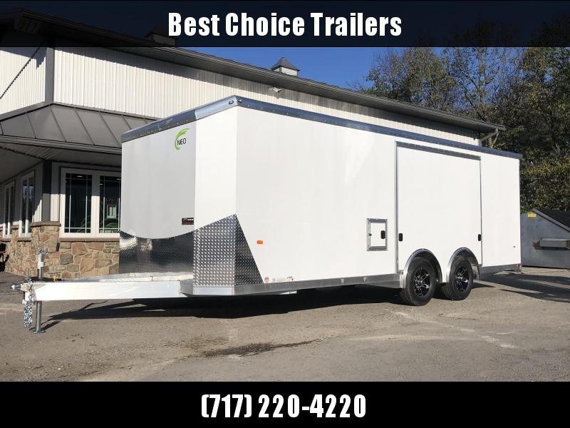 2019 NEO Aluminum Enclosed Car Hauler Trailers NACX2285R * AVAILABLE BY SPECIAL ORDER