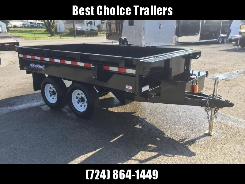 2019 Sure-Trac 6x10' 9900# GVW SD Deckover Dump Trailer