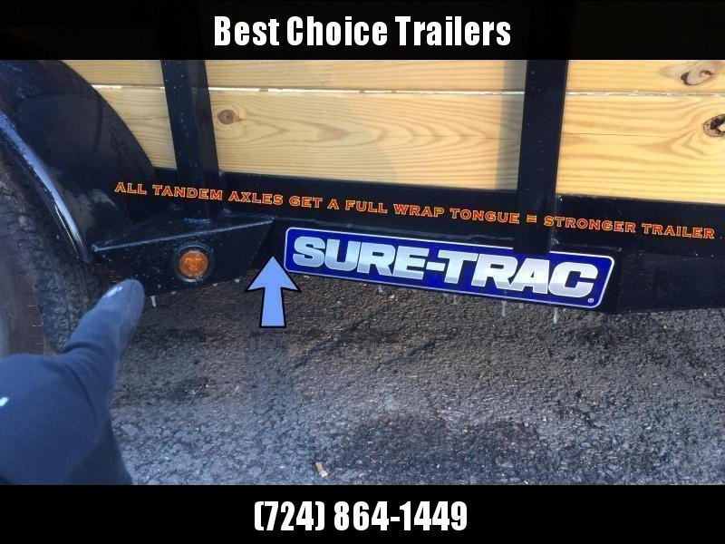 2020 Sure-Trac 5x10' Tube Top Utility Landscape Trailer 2990# GVW