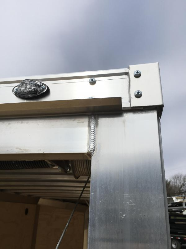 2019 Neo 6x12 NAVF Aluminum Enclosed Cargo Trailer * RAMP DOOR * CHARCOAL * ALUMINUM WHEELS