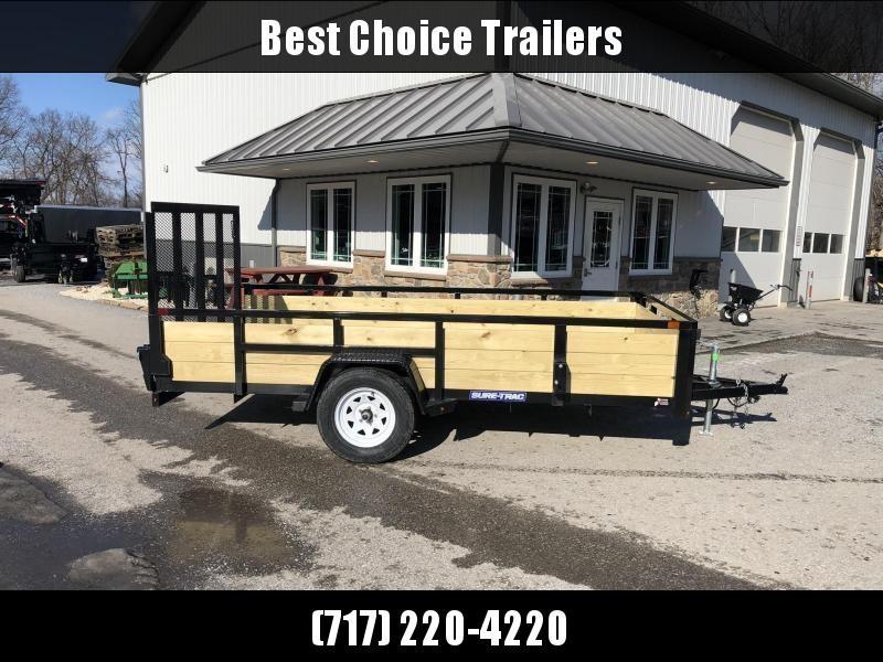 2020 Sure-Trac 6x12' Tube Top 3-Board High Side Utility Landscape Trailer 2990# GVW
