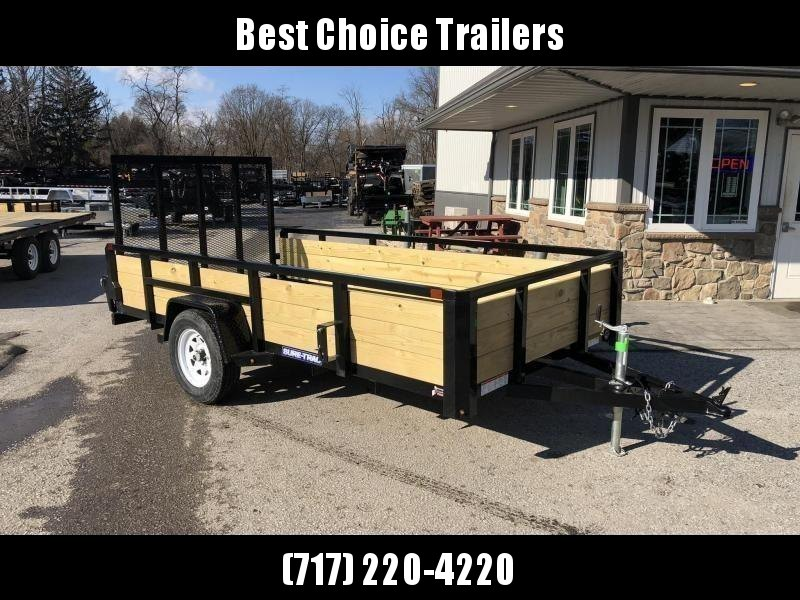 2020 Sure-Trac 6x12' Tube Top 3-Board High Side Utility Landscape Trailer 2990# GVW