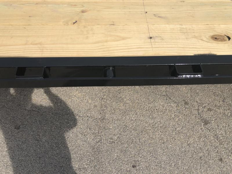 2019 Load Trail 102x40' HOTSHOT Gooseneck Deckover Flatbed 24000# Trailer * GP0240122 * EOH Disc Brakes * 8' RAMPS * HDSS Suspension * Under frame bridge * Torque Tube * 12K Axles