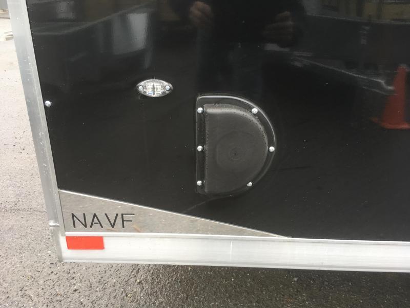 2019 Neo 7x16 NAVF Aluminum Enclosed Cargo Trailer * RAMP DOOR * BLACK