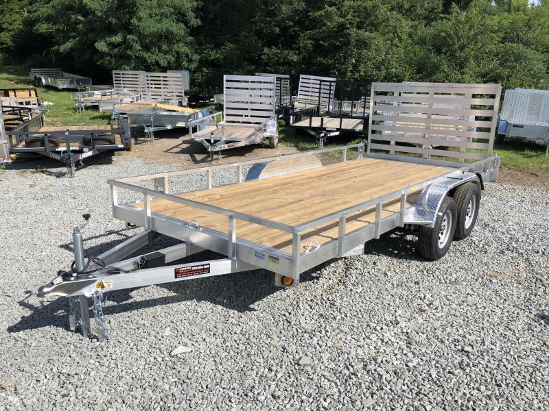 2019 QSA 7x16' 7000# GVW Aluminum Landscape Utility Trailer