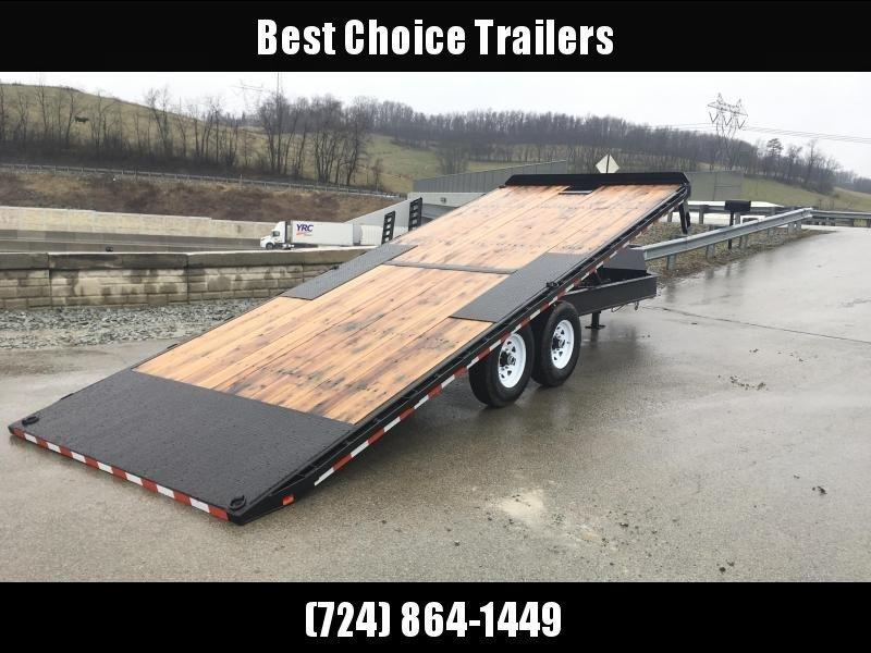 2018 Sure-Trac 102x22' Power Tilt Deckover 15000# GVW * WINCH PLATE * OAK DECK