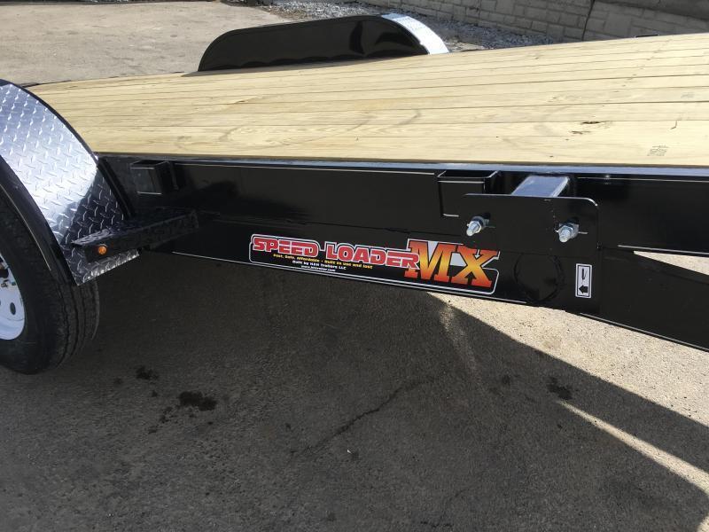 2019 H&H 7x20' EX Power Tilt Car Hauler 9990# GVW * POWER UNIT * DUAL TOOLBOXES