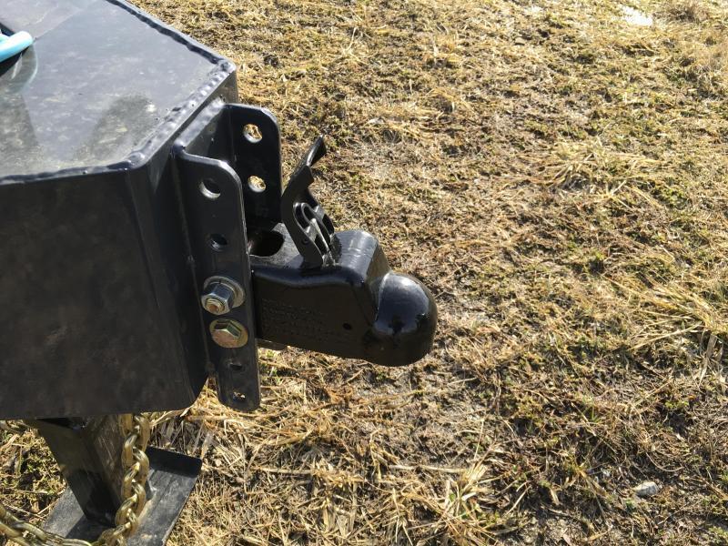 2019 Lamar F8 102x24' Beavertail Deckover Trailer 14000# GVW * FULL WIDTH RAMPS  * CHARCOAL