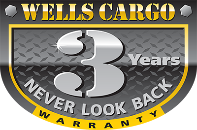 2019 Wells Cargo 8.5x16' Fastrac DELUXE Enclosed Car Trailer 7000# GVW * SILVER EXTERIOR * RAMP DOOR
