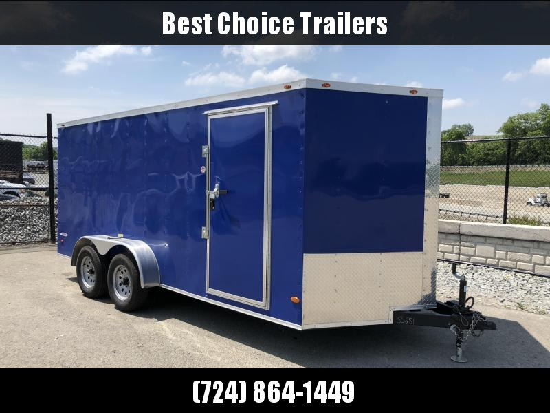 2018 Freedom 7x16' Enclosed Cargo Trailer 7000# GVW
