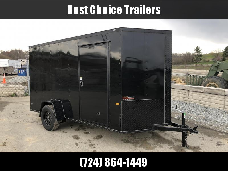 2018 Rock Solid 6x10' Enclosed Cargo Trailer 2990# GVW - BLACKOUT PACKAGE