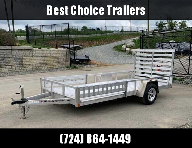 2019 ATC 14' All Aluminum Utility ATV Trailer 2990# * TORSION * EXTRUDED FLOOR * ALUMINUM WHEELS