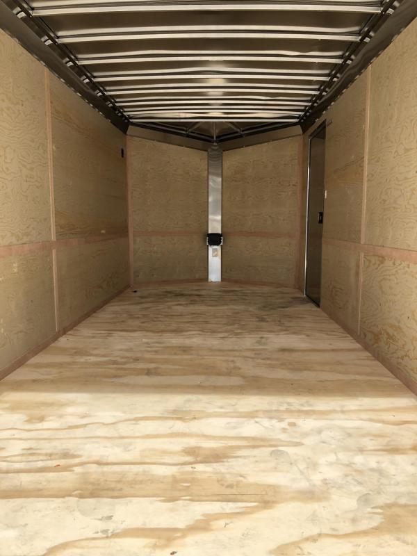 2019 Neo 7x14 NAVR Aluminum Enclosed Cargo Trailer * 7' HEIGHT UTV * RAMP DOOR * ALUMINUM WHEELS * PLASTIC VENTS * PRO STAB JACKS