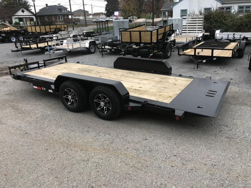 2019 Iron Bull 7x20' Equipment Trailer 9990# GVW - POWER TILT * TORSION