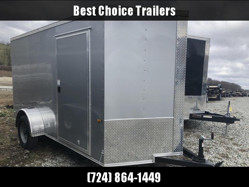 2018 Rock Solid 6x12' Enclosed Cargo Trailer 2990# GVW