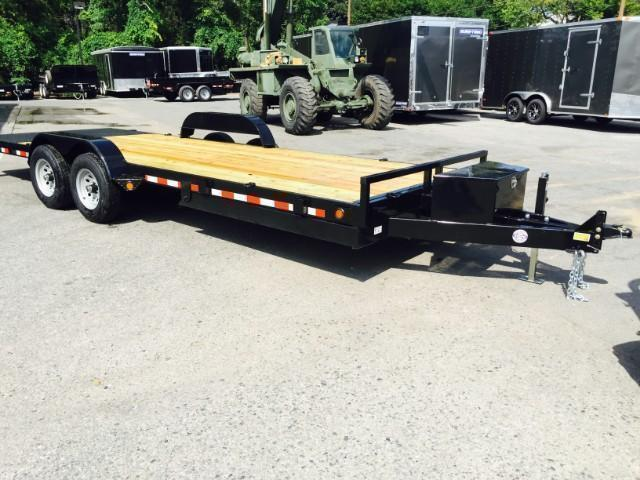 2018 QSA 7x18' 9850# GVW Power Tilt Equipment Trailer