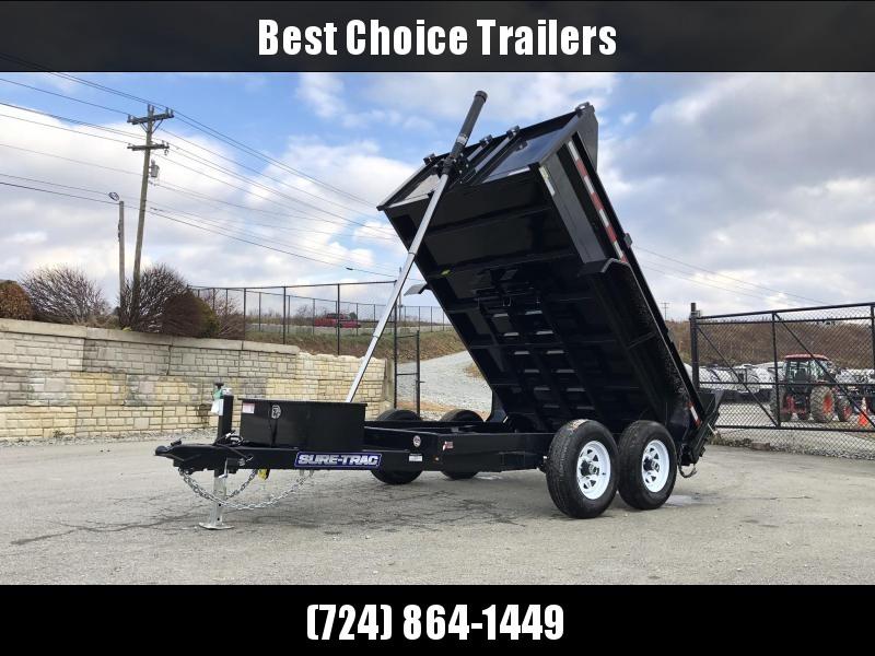 2019 Sure-Trac 6x10' Dump Trailer 9900# GVW * TELESCOPIC HOIST UPGRADE