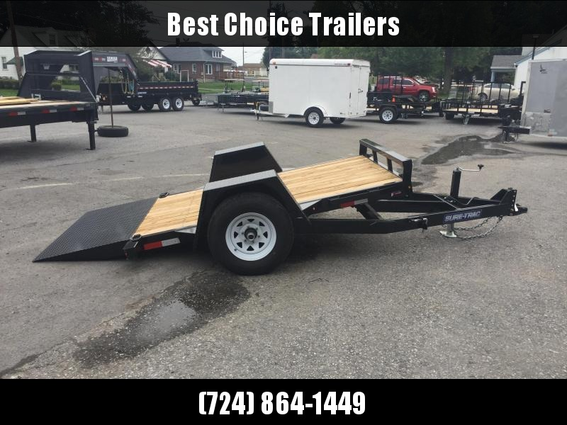 2019 Sure-Trac 5'x10' 5000# GVW Tilt Equipment Trailer Scissor Hauler