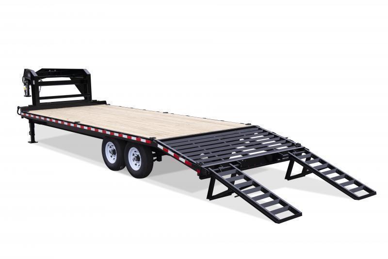 2020 Sure Trac Gooseneck Beavertail Flatbed Deckover Trailer * ST102204SDDO-GN-150 * 4
