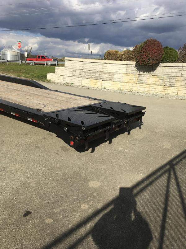 "2019 Ironbull 102x44' Gooseneck Car Hauler Equipment Trailer 21000# * 102"" DECK * DRIVE OVER FENDERS * FULL WIDTH RAMPS"