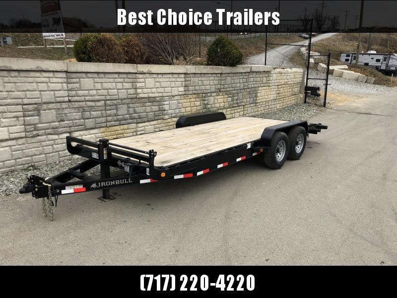 2019 Iron Bull 7x20' Wood Deck Car Trailer 14000# GVW in Ashburn, VA