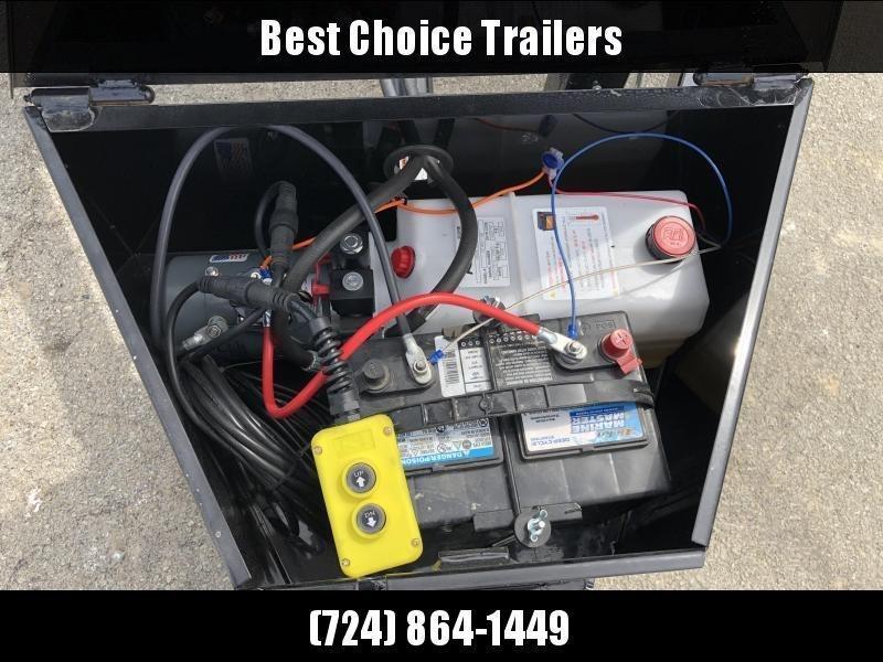 2019 Sure Trac 7x20' 9900# POWER Tilt Car Trailer * ST8220CHWPT-B-100 * STEEL DECK UPGRADE * FREE ALUMINUM WHEEL UPGRADE