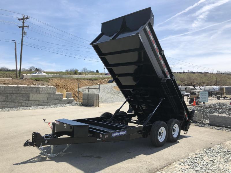 2018 Sure-Trac 7x14' LowPro HD Dump Trailer 14000# GVW