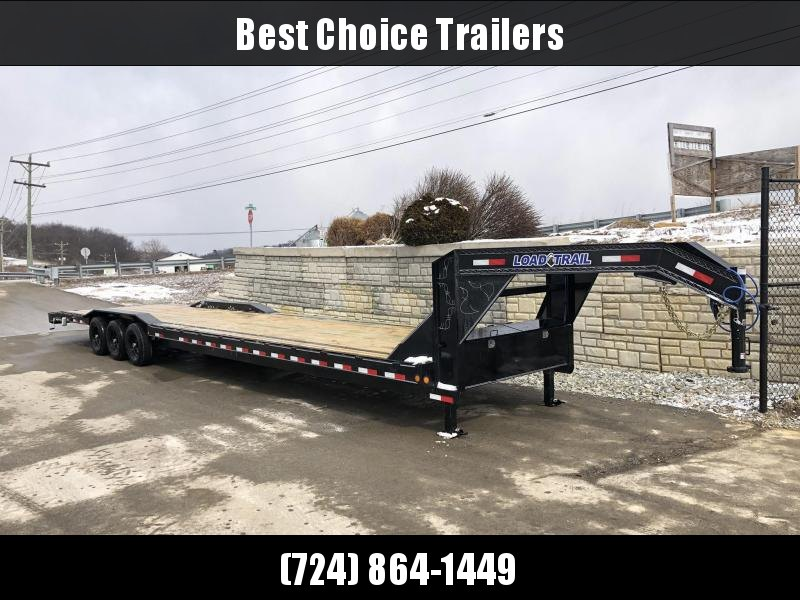 "2019 Load Trail 102x40' Gooseneck Car Hauler Trailer 21000# * 102"" DECK * DRIVE OVER FENDERS * HYDRAULIC DISC BRAKES"