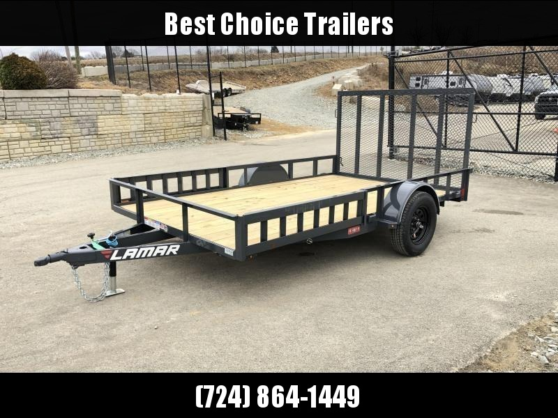 2019 Lamar 7x12' 2990# Landscape Utility Trailer * ATV RAMPS * CHARCOAL in Ashburn, VA