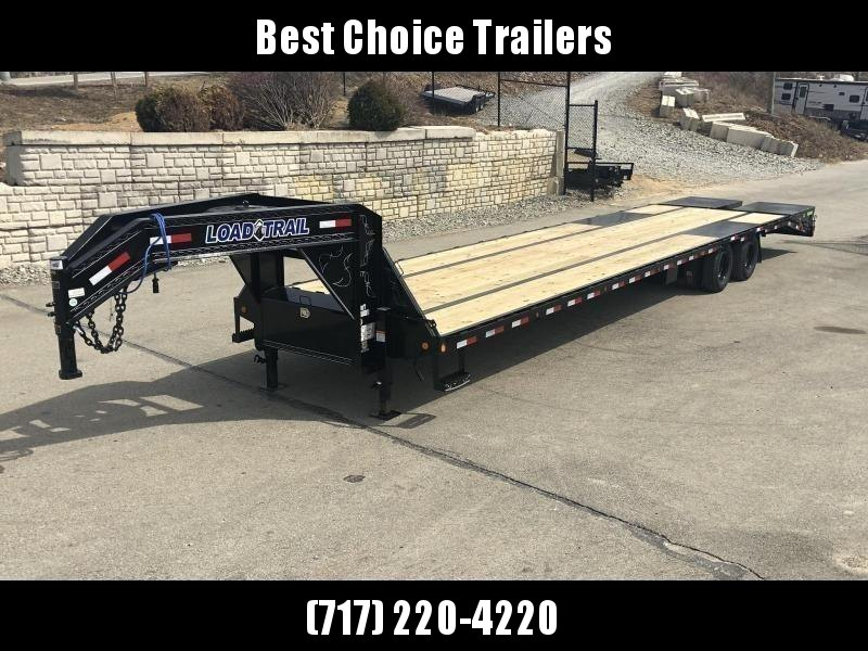 2019 Load Trail 102x28' Gooseneck Beavertail Deckover Flatbed 22000# Trailer * GP0232102 * MAX Ramps * HDSS Suspension * Dexter Axles