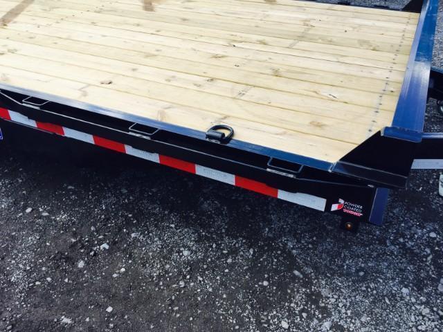 "2019 Sure-Trac 7x17+3' Equipment Trailer 16000# GVW - UNIVERSAL RAMPS * 8000# AXLE UPGRADE * 17.5"" RUBBER * 8"" FRAME UPGRADE * HD COUPLER"