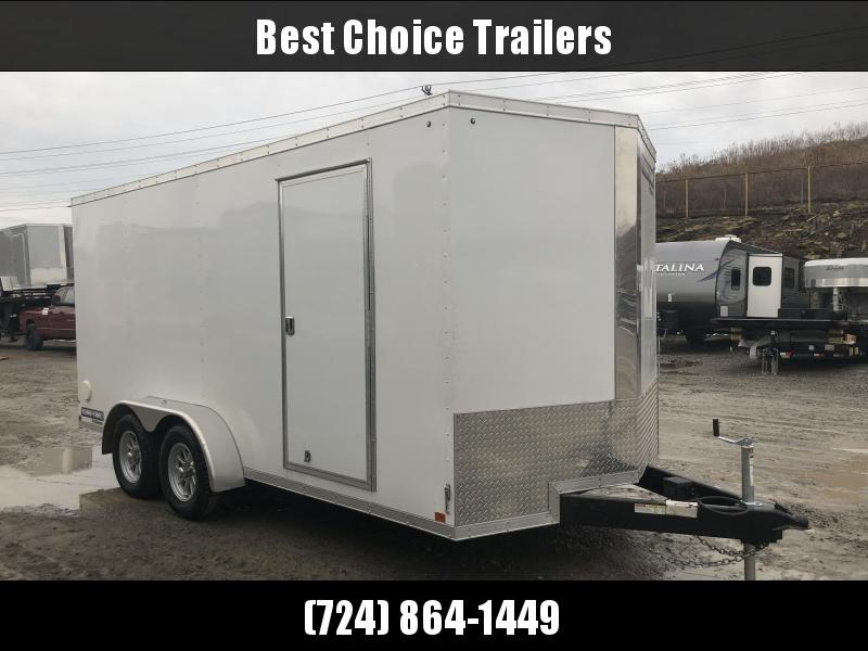2018 Sure-Trac 7x16' Enclosed Cargo Trailer 7000# GVW * WHITE