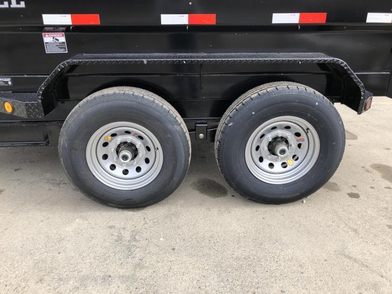 2018 Iron Bull 7x12' 4' HIGH SIDE Dump Trailer 14000# GVW RAMPS * TARP * SCISSOR * CLEARANCE