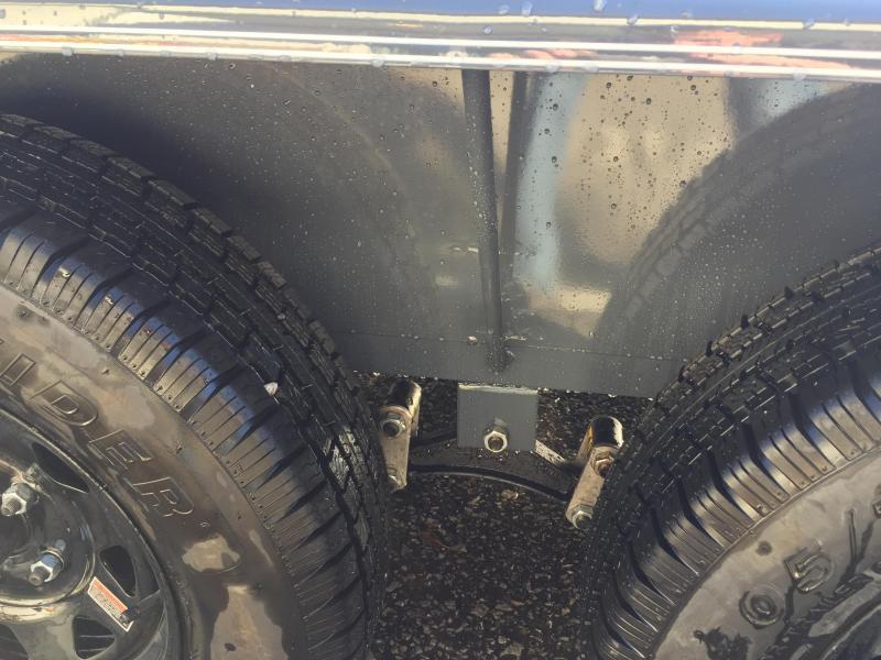 2018 Lamar 7x18' Steel Deck Car Trailer 7000# GVW * 11GA STEEL DECK * CHARCOAL * 3' DOVETAIL * CLEARANCE
