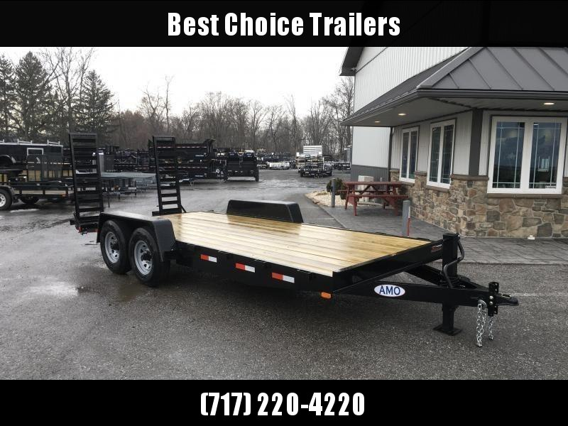 2018 AMO 7x16' Equipment Trailer 12000# GVW