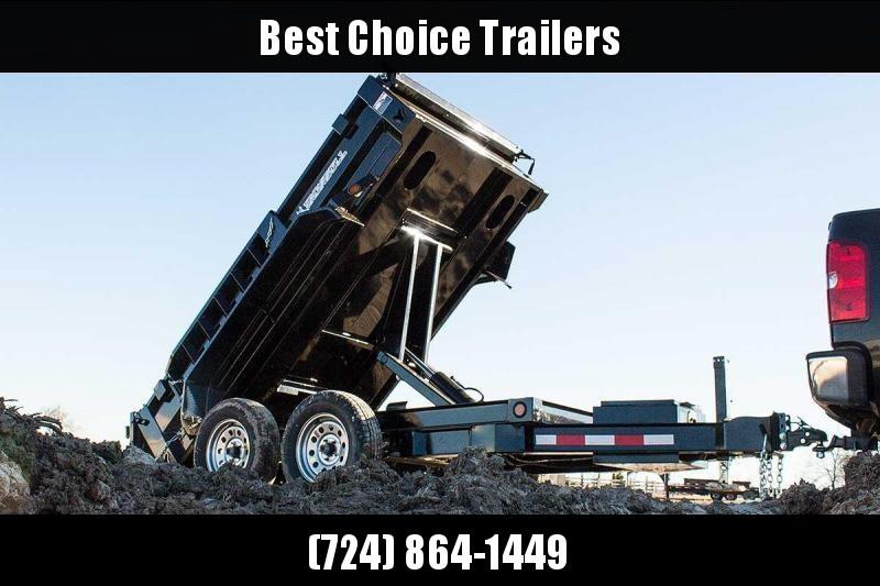 2019 Iron Bull 5x10' Dump trailer 9990# GVW DTB6010052 * SCISSOR HOIST * TARP KIT * RAMPS * I-BEAM FRAME #LIL BEAST