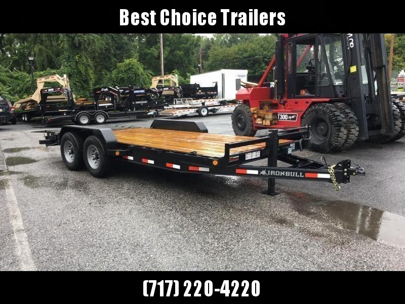 2019 Ironbull 7x20' Equipment Trailer 14000# GVW * FULL WIDTH RAMPS