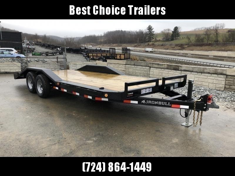 "2019 Iron Bull 102""x22' Wood Deck Car Trailer 9990# GVW * 102"" DECK * DRIVE OVER FENDERS in Ashburn, VA"
